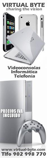 Tienda videoconsolas telefonia Virtual Byte