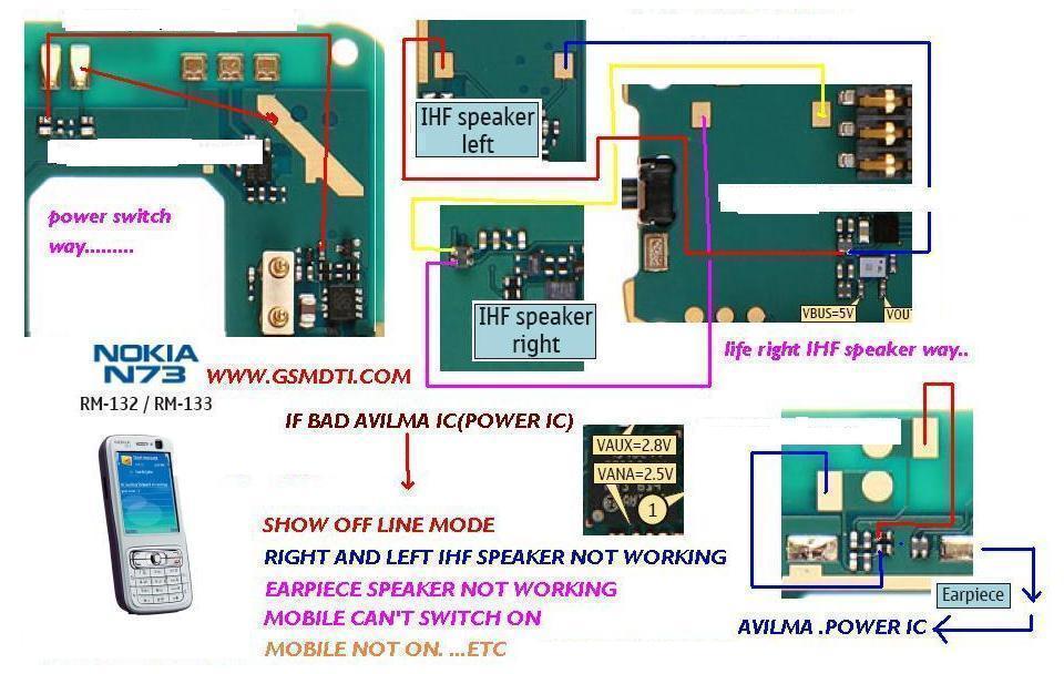 N73 Power Switch Ways N73-2v10
