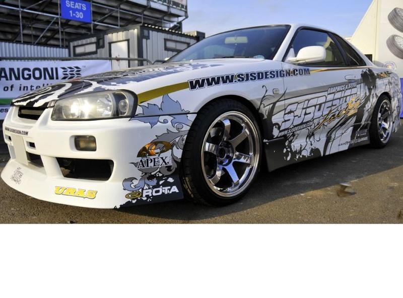 Vinyl For Drifting Cars On Midnight Club LA -VOTE! Nissan10