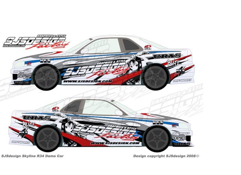 Vinyl For Drifting Cars On Midnight Club LA -VOTE! Nissan11