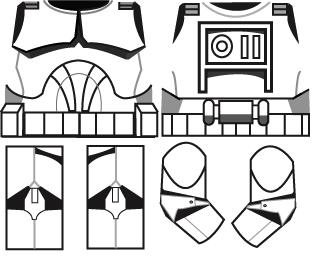 index of clone decal templates