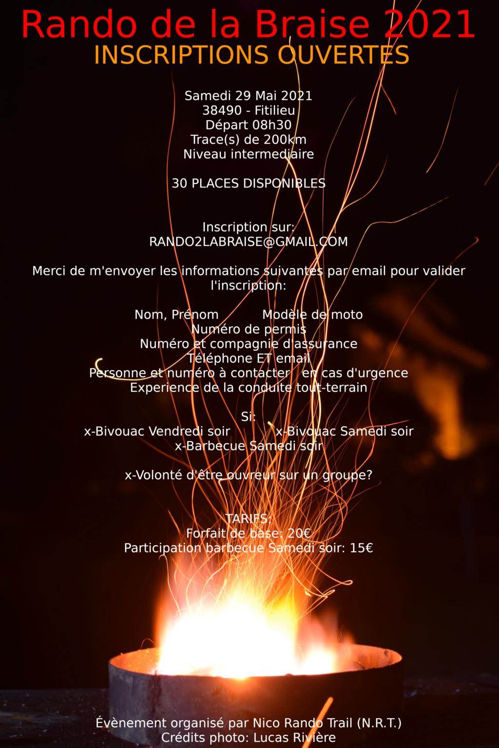 Rando de la Braise 2021 - Page 2 Inscri10