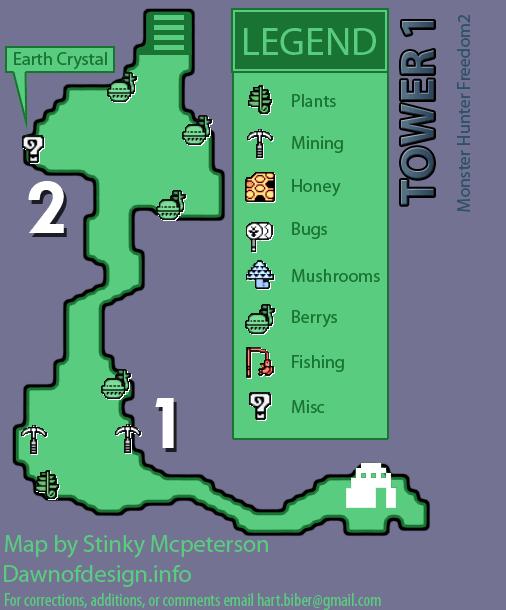 mapas de monster hunter freedom 2 Monste14