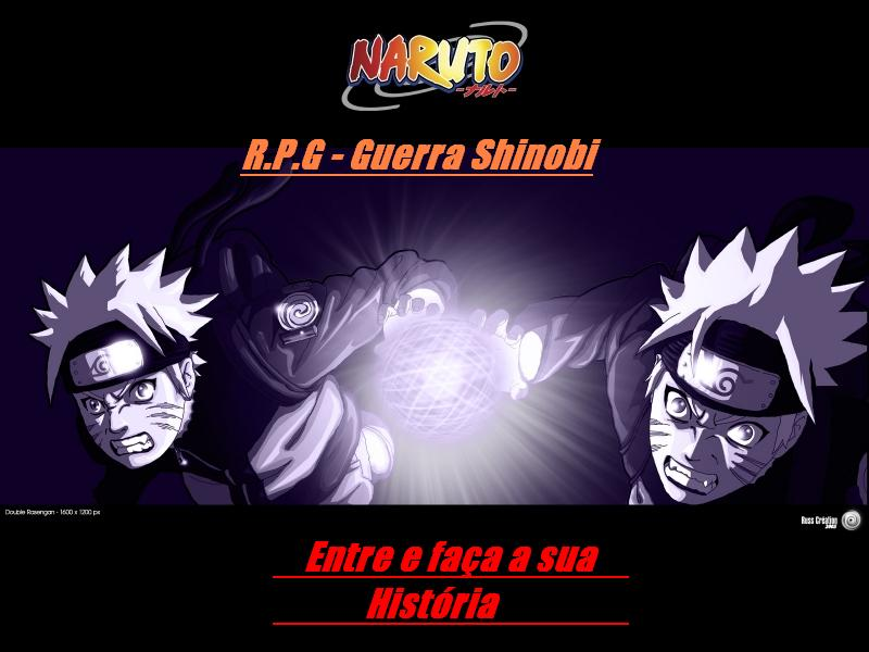 A guerra sangrenta do universo shinobi