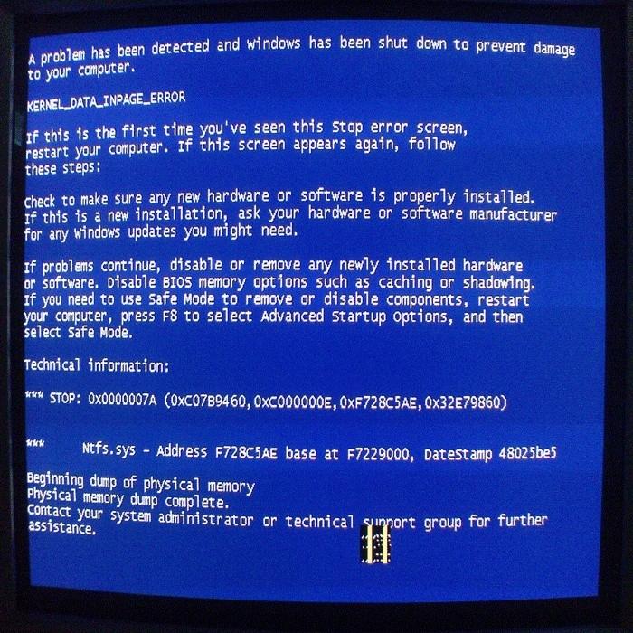 blue screen Blue_s10
