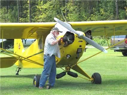 Piper J3 Cub , Um Sonho se realizando ! 1945-p10