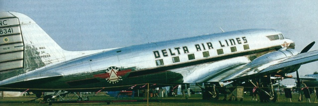 DOUGLAS DC3 Deltad10