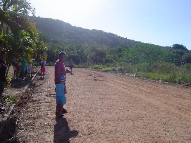 Uma tarde de vôos no  Garrote  Village Domin158