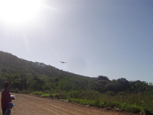 Uma tarde de vôos no  Garrote  Village Domin163