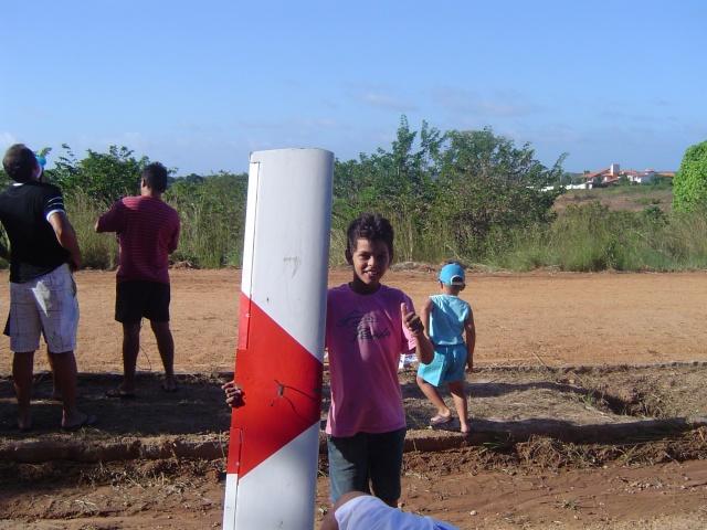 Uma tarde de vôos no  Garrote  Village Domin165