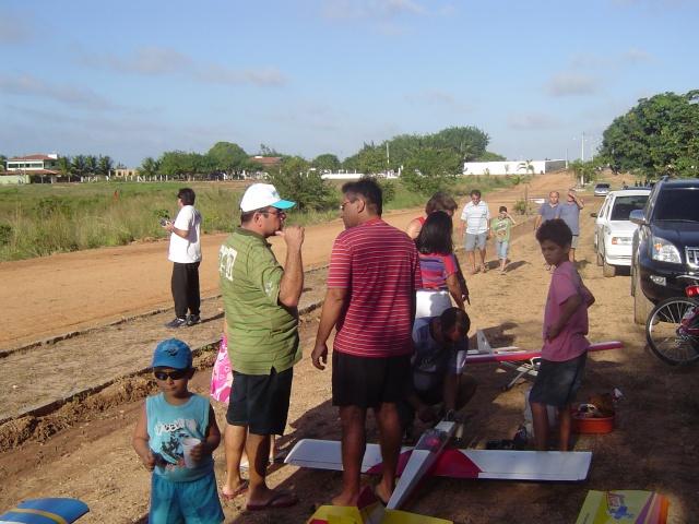 Uma tarde de vôos no  Garrote  Village Domin172