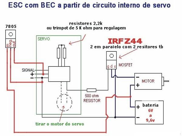 esc para motores escovados homemade Esc_se10