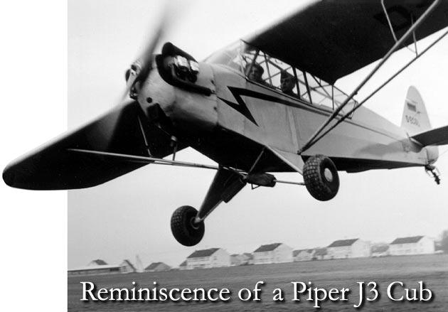 Piper J3 Cub , Um Sonho se realizando ! Lars3e12