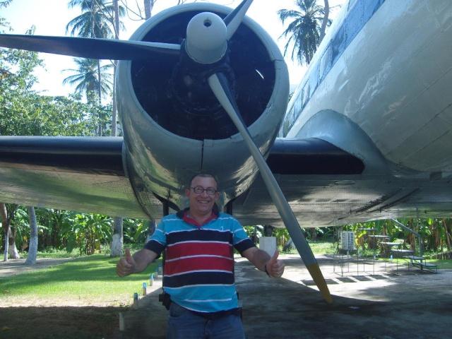 VISITE  UM DC3 EM PACATUBA - CE Pacatu23