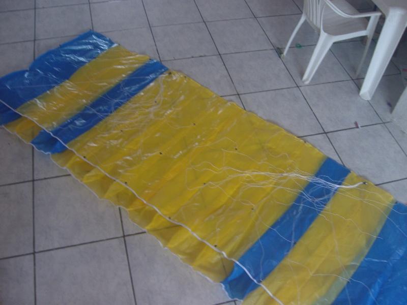 Chegou meu paraglider ( vela) Snv80510
