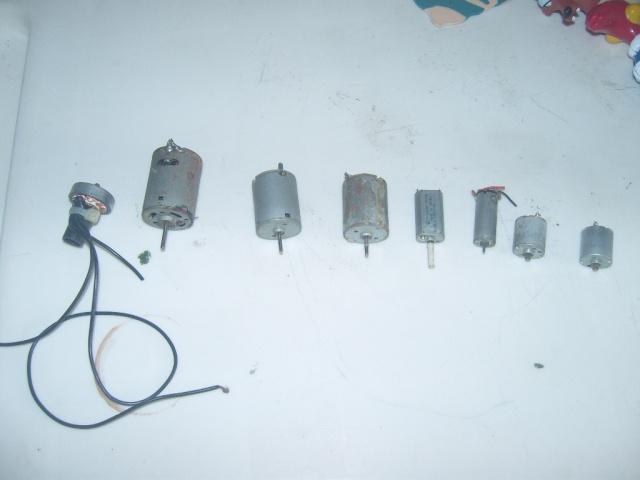 Varios motores escovados Snv81339