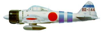Aviões Japoneses na Segunda Guerra Zero10