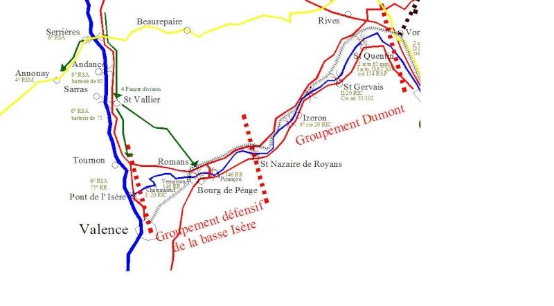 cartographie au jour le jour (provisoire). Drome210