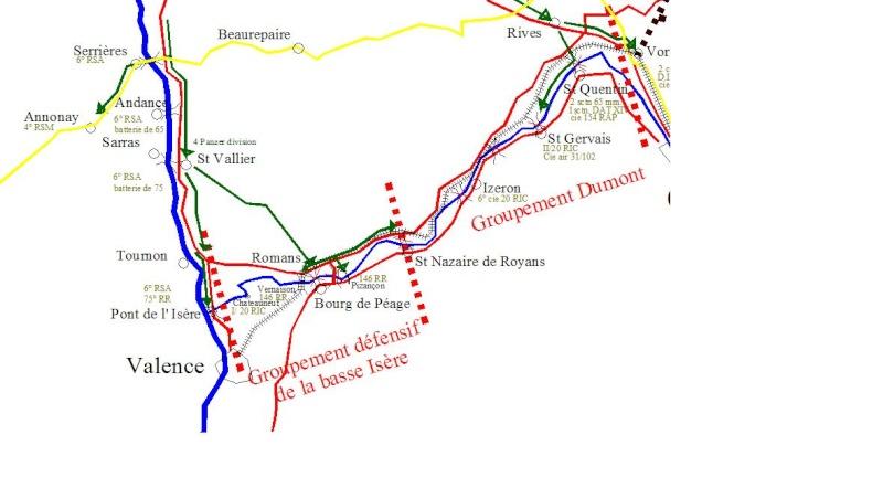 cartographie au jour le jour (provisoire). Drome410