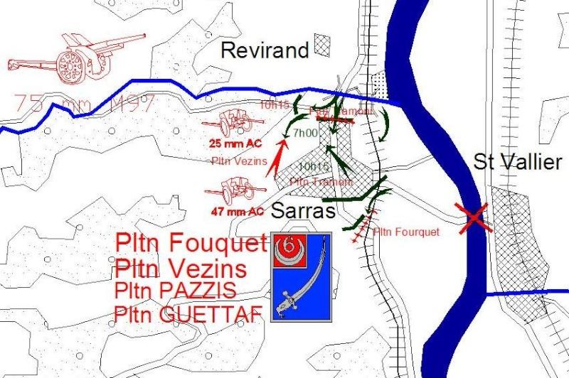 combat de la première brigade de spahis Sarras12