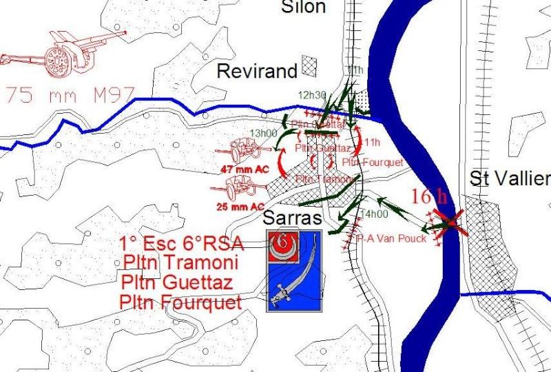 combat de la première brigade de spahis Sarras13
