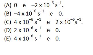 Calcule a divergência e a vorticidade no ponto central Gaba10