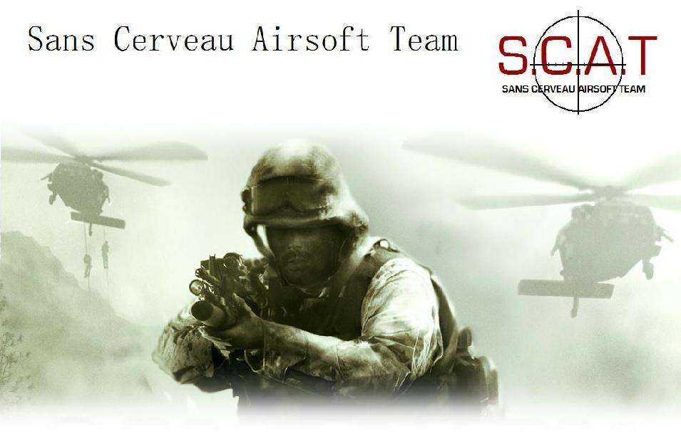 Sans Cerveau Airsoft Team :  Airsofteurs limouxins