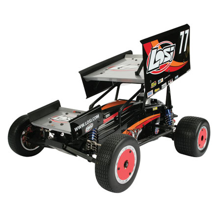 RC DIRT OVAL RACING Losb0210