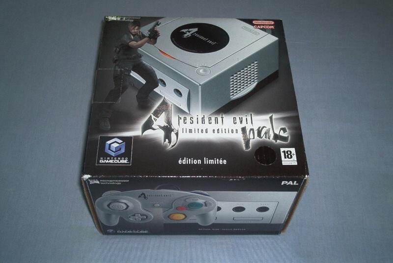 Collec' Resident Evil De GZA Consol10