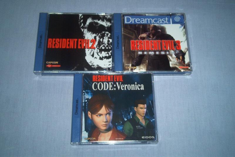 Collec' Resident Evil De GZA Dreamc10