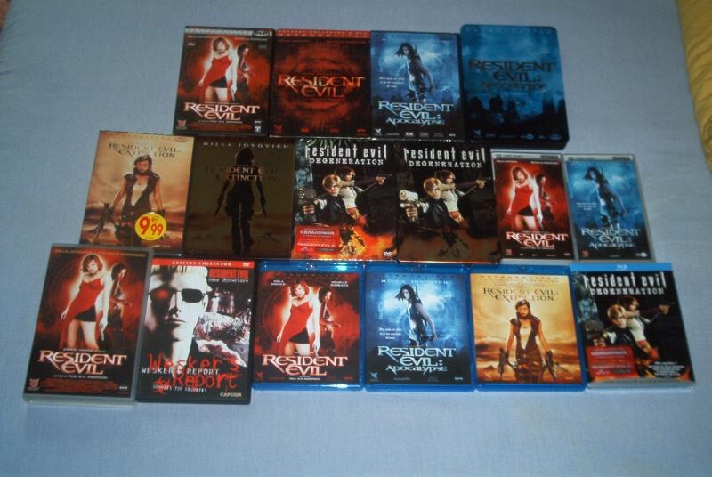 Collec' Resident Evil De GZA Dvd10