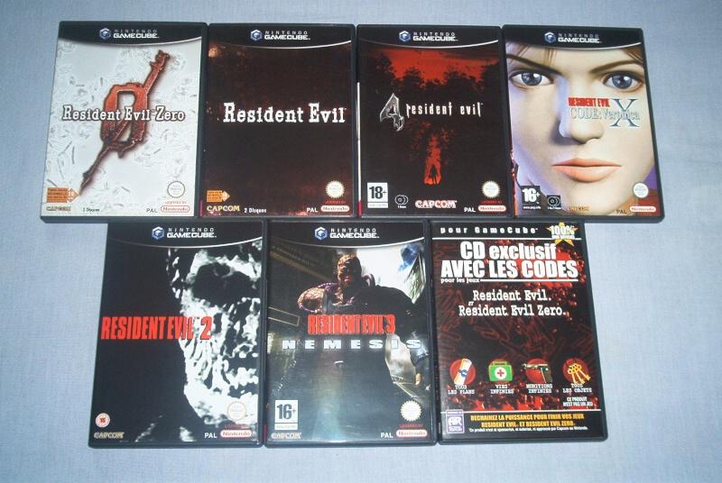 Collec' Resident Evil De GZA Gc10