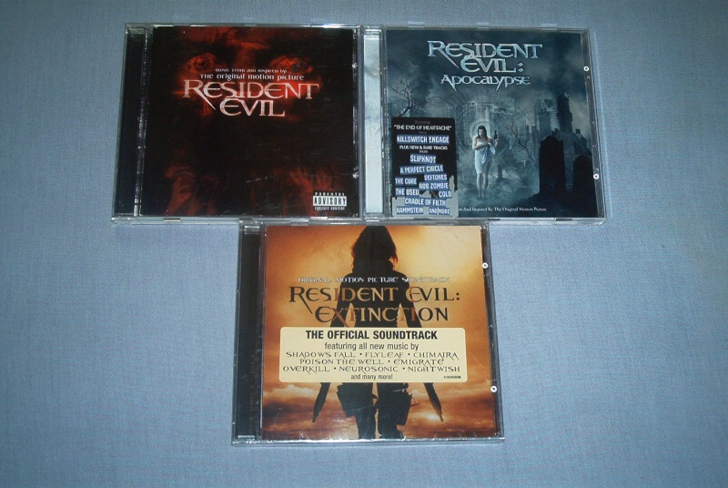 Collec' Resident Evil De GZA Ost10