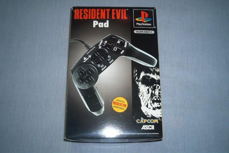 Collec' Resident Evil De GZA Pad_ps10