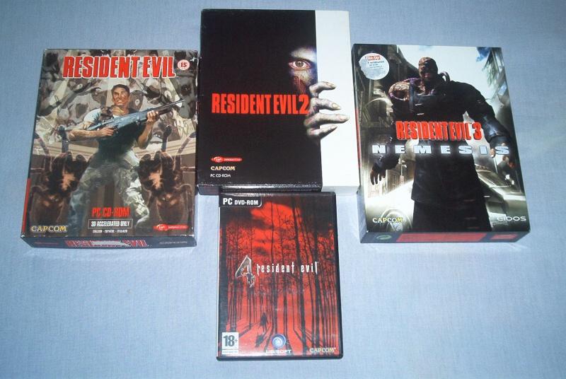 Collec' Resident Evil De GZA Pc10
