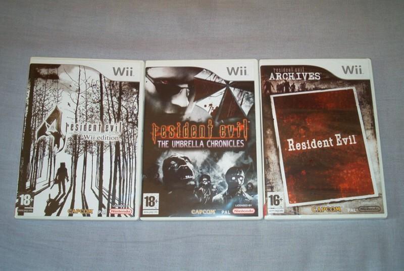 Collec' Resident Evil De GZA Photo_29