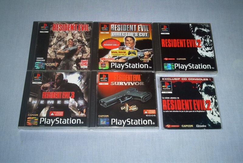 Collec' Resident Evil De GZA Ps110