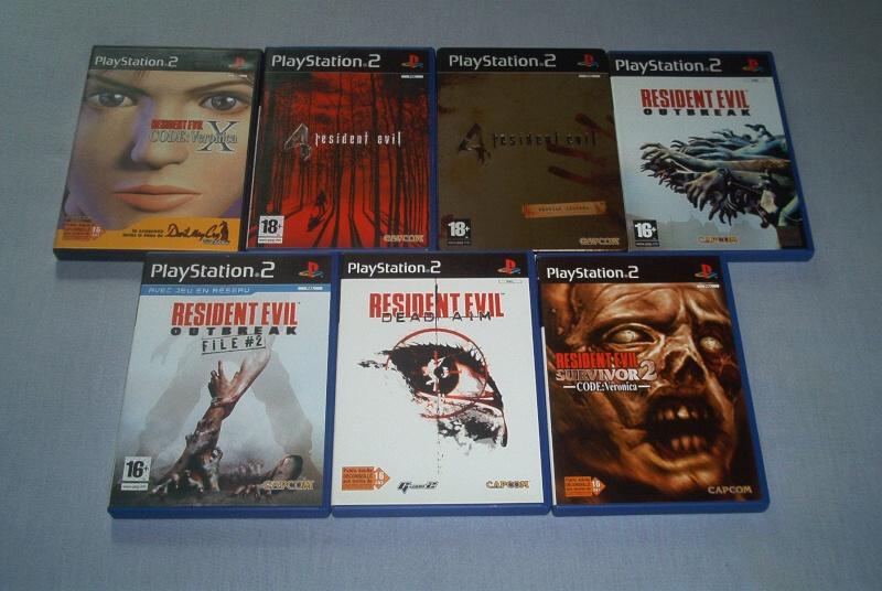 Collec' Resident Evil De GZA Ps211