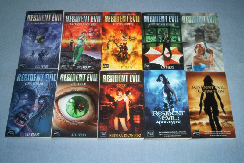 Collec' Resident Evil De GZA Romans10
