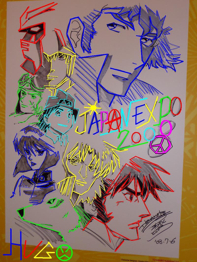[ Coloration ] Affiche JAPAN EXPO 2009. Japane11