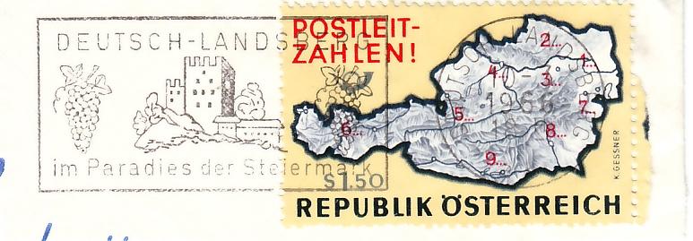 Maschinenwerbestempel von Österreich 10277_10
