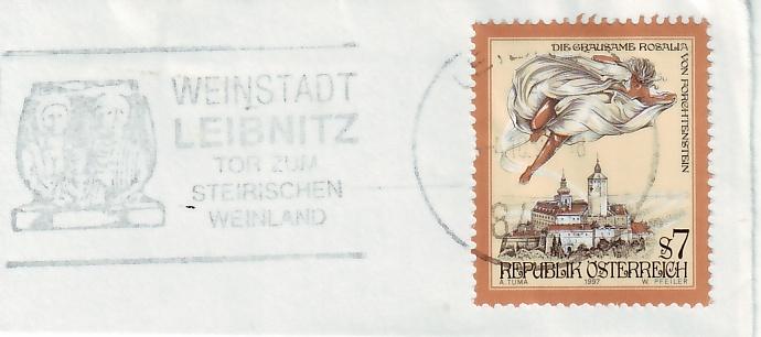 Maschinenwerbestempel von Österreich 10284_10