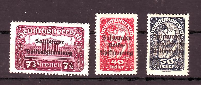Deutsch-Öst Marke mit nicht katalogisiertem Aufdruck Slzbg_10