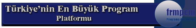 Türkiye'nin en büyük program platformu