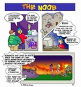 """The best comic I ever saw. """"The Noob"""" 0000110"""