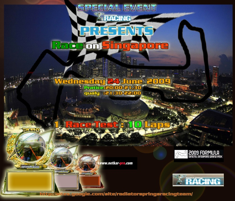 10 July 09: Singapore test Singap15
