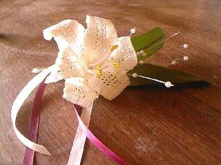 lys pour boutonniére mariage Sp_a0612