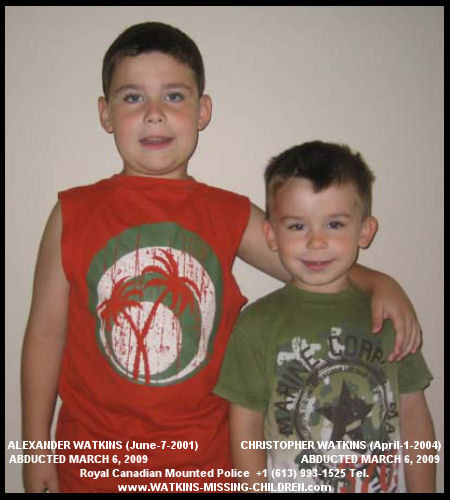 Alexander & Christopher Watkins abducted by their mother, Edyta Ustaszewski Watkins, and her father, Tadeusz Ustaszewski in March 2006/ Believed to be in Germany/Boys Have Been Found in Poland!/Polish Judge Orders Children To Stay With Mom Alexan10