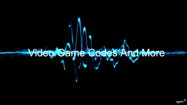 Video Game Codes And More