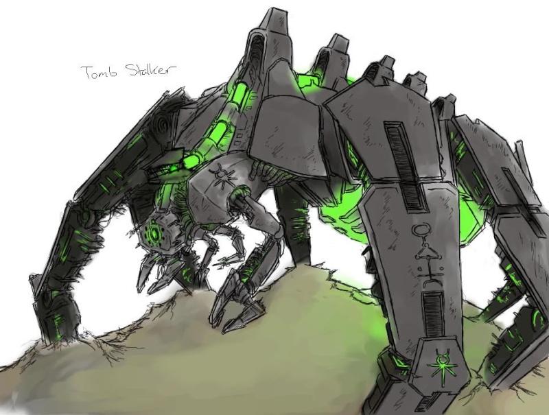 Necron Tombstalker Tombst10